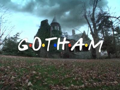 La cabecera de 'Gotham' al estilo 'Friends', la imagen de la semana