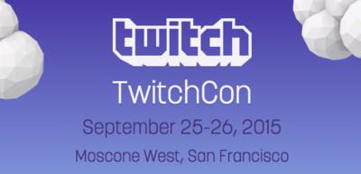 TwitchCon, la nueva conferencia sobre streaming y videojuegos nos cita para septiembre