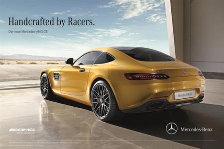 Muy farruco se ha puesto el Mercedes-AMG GT con el Porsche 911