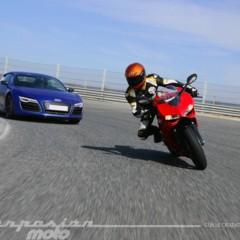 Foto 6 de 24 de la galería ducati-899-panigale-vs-audi-r8-v10-plus en Motorpasion Moto