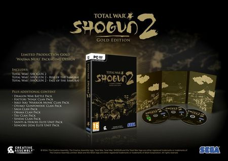Total War: SHOGUN 2 - Gold Edition