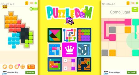 Puzzledom, puzzles empaquetados al estilo Juegos Reunidos Geyper, para iOS y Android