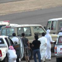 Una persecución policial árabe con final inesperado