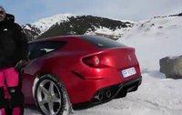 El Ferrari FF se entrena en Baqueira/Beret