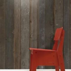 Foto 2 de 3 de la galería papel-pintado-para-imitar-revestimientos-de-madera en Decoesfera