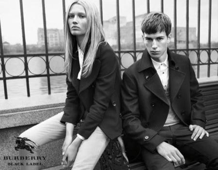 Burberry Black Label, colección Otoño-Invierno 2009/2010
