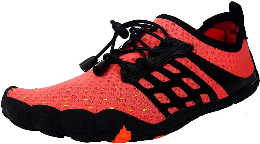 Zapatos de Agua Hombres Mujeres Secado Rápido Zapatillas de Playa Antideslizante Respirable Ejercicio Acuático Calzado para Snorkel Surf Natación Unisex