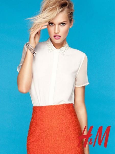 Catálogo Primavera-Verano 2012 de H&M: sígueme y seguirás las tendencias, baby