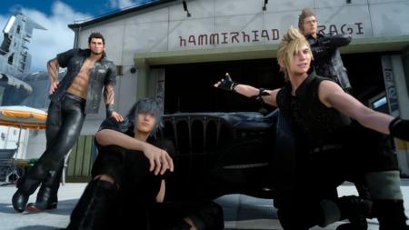 Final Fantasy Xv Selfie