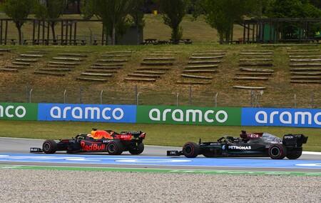 Verstappen Hamilton Portugal F1 2021
