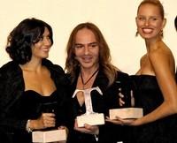 Concentración de Famosos en los Premios Telva