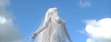 Las espectaculares esculturas virtuales de Chad Knight que crean un vínculo mágico entre lo real y lo irreal