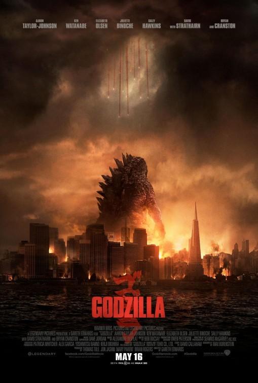 Foto de Carteles de la película 'Godzilla' (17/18)