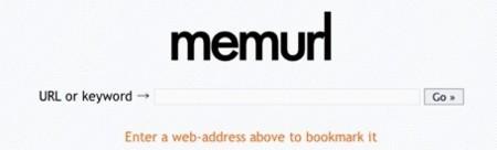 Memurl, abreviador de url mediante términos fáciles de recordar