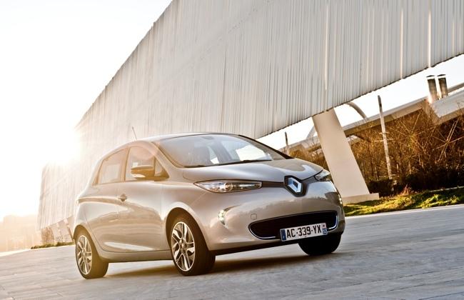 Renault ZOE exterior 36