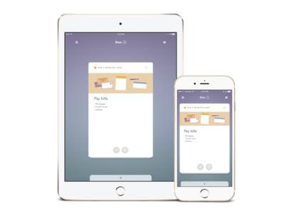 Doo, una manera simple y bonita de gestionar tareas en iOS