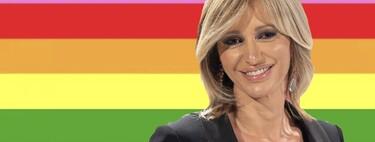 """Susanna Griso dedica muy emocionada su premio Diversa Global 2021 a su hermano Damián: """"Era gay y murió de VIH"""""""