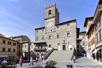 Cortona, un pueblecito de origen etrusco en la Toscana