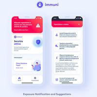 Immuni, la primera app europea de rastreo del coronavirus basada en la API de Google y Apple, llega desde Italia