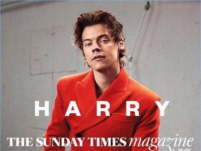 El regreso de Harry Styles en su carrera en solitario le vale una portada en The Sunday Times Magazine