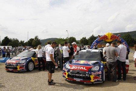 La semana después del rally. Loeb ganó la batalla del Panzerplatte