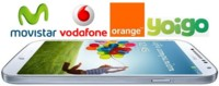Comparativa precios Samsung Galaxy S4 con Movistar, Vodafone, Orange y Yoigo