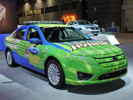 Fusion Hybrid Pace Car