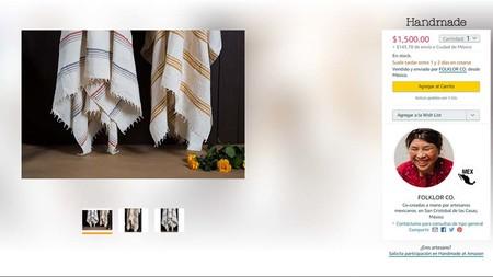 Al seleccionar un producto nos indicará en dónde se fabricó la artesanía f01ead1a011