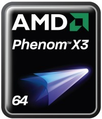 AMD Phenom X3 logo