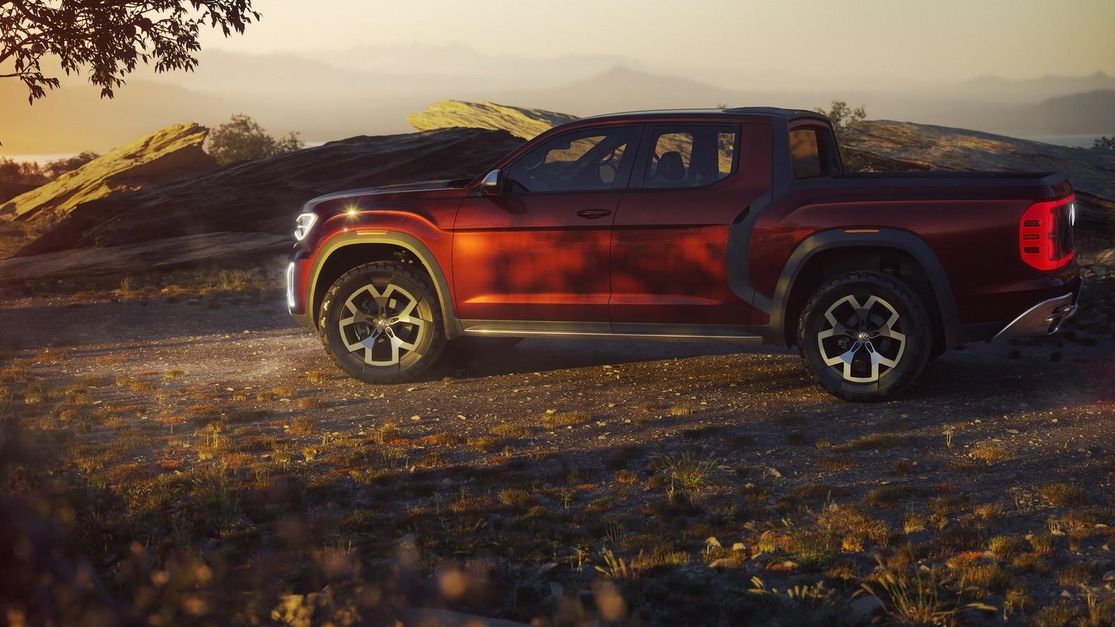 Foto de Volkswagen Atlas Tanoak Pickup concept (4/6)