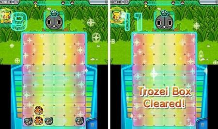Pokémon Trozei Box Cleared