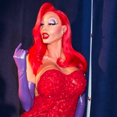 Se desveló el misterio: Heidi Klum es Jessica Rabbit
