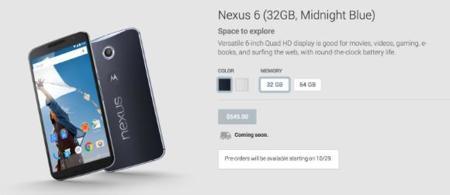 Nexus6 Gplay Eeuu 2