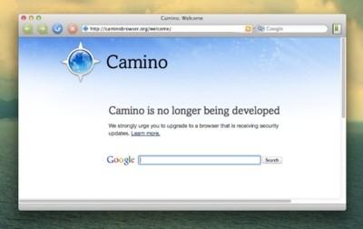 Adiós a Camino, el navegador alternativo con motor Gecko para Mac