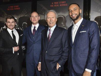 Eastwood explica por qué apostó por los héroes reales de '15:17 Tren a París' en lugar de actores profesionales
