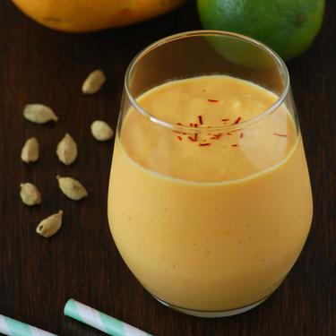 Lassi o batido de yogur y mango: receta refrescante y nutritiva