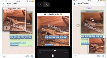 Wabetainfo capturas de la nueva opción de whatsapp