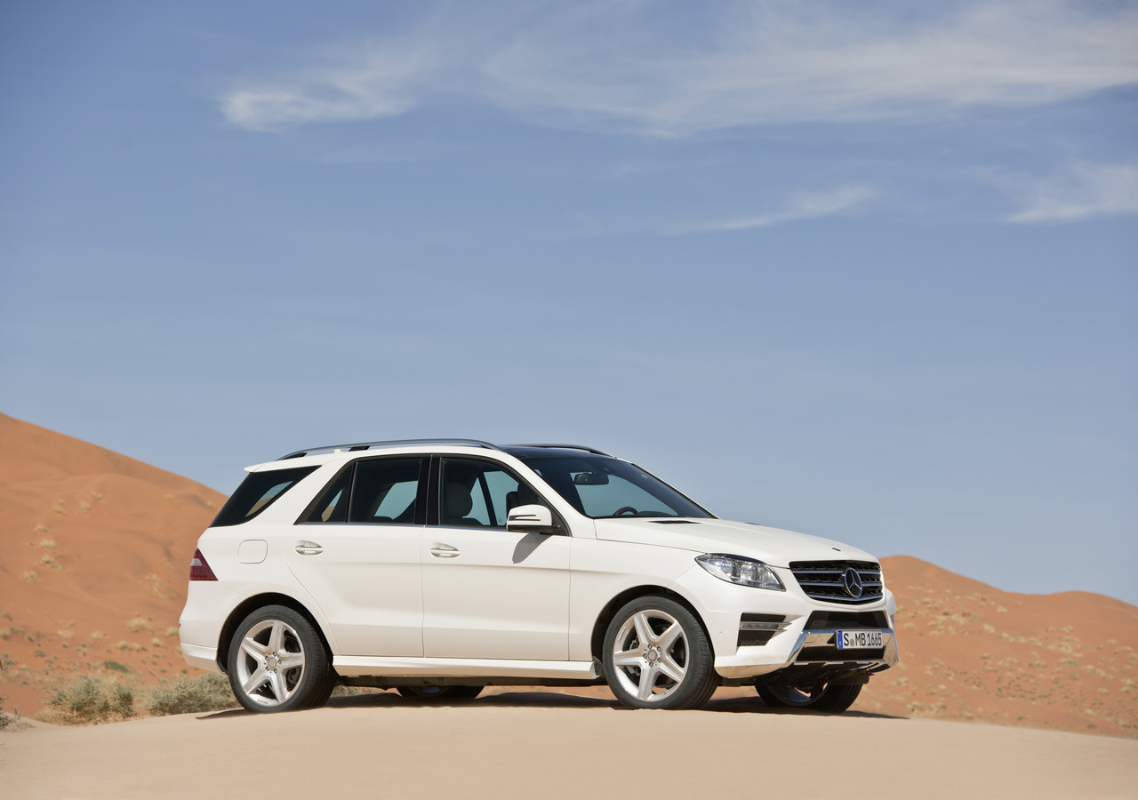 Foto de Mercedes-Benz Clase M 2012 (1/42)