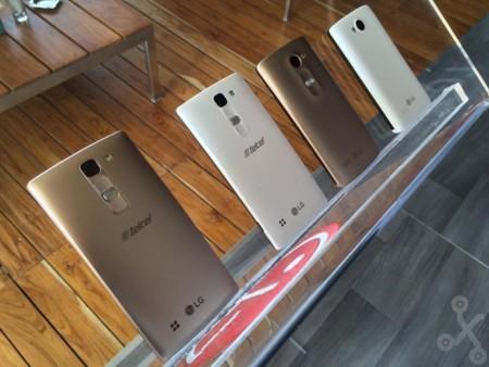LG Joy, Spirit, Leon y Magna, la nueva gama media y baja de LG llega México