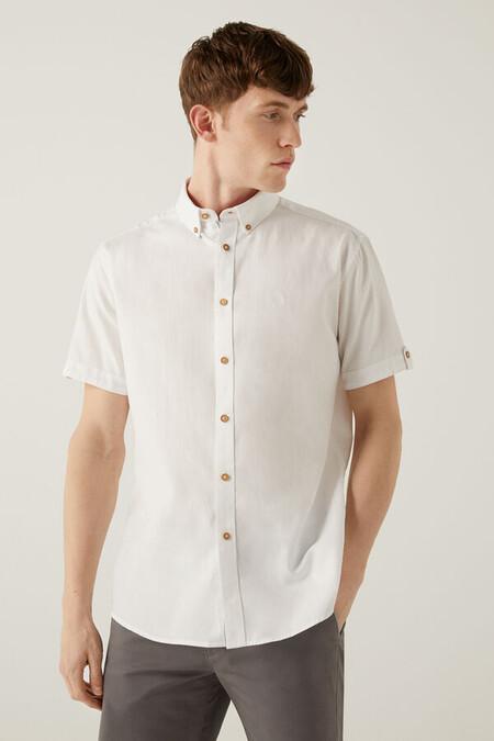 Camisa Lino Springfield
