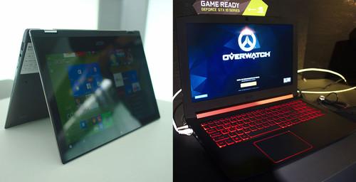 Acer Nitro 5 y Spin 1, primeras impresiones: un jugón muy fresco y un convertible al que le faltan vitaminas
