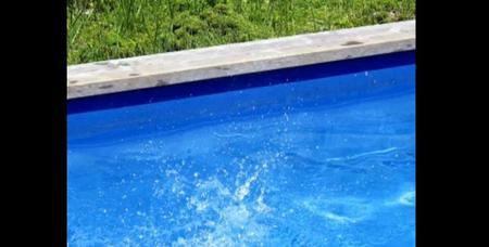 Fotografías de una piscina por Karine Laval
