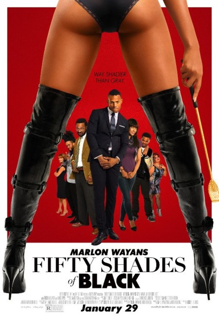 Cartel de Fifty Shades of Black