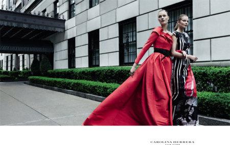 Carolina Herrera campaña Otoño-Invierno 2012/2013: un paseo por Nueva York