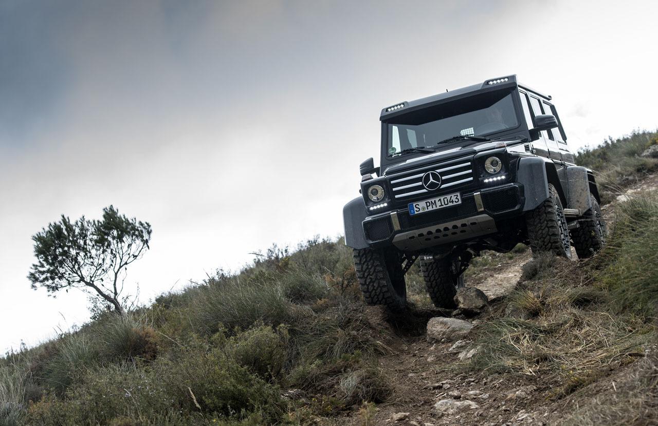 Foto de Mercedes-Benz G 500 4x4², toma de contacto (65/127)