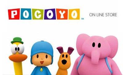 Nueva tienda online oficial de Pocoyó
