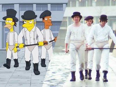 Todos los homenajes que los Simpson han hecho a Stanley Kubrick reunidos en un gran vídeo