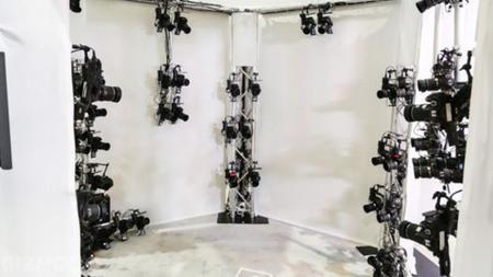 Nikon usa 68 cámaras DSLR para generar en tiempo real el modelo 3D de una persona