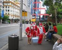Acampada en Sídney para celebrar el fin de año