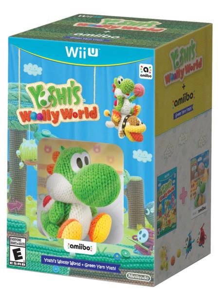 Yoshis Woolly World Amiibo Bundle